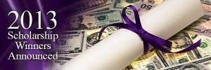 2013 Scholarships