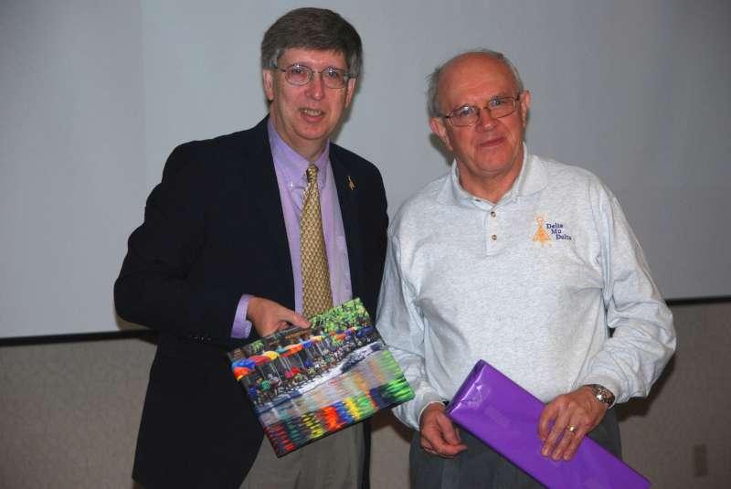 President Lewington receives tokens of appreciation.docx