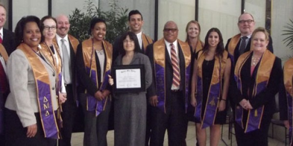 Delta Mu Delta International Honor Society in Business Installs Chapter at South University, Tampa