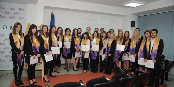 University American College Skopje in Macedonia Holds its First Induction Ceremony