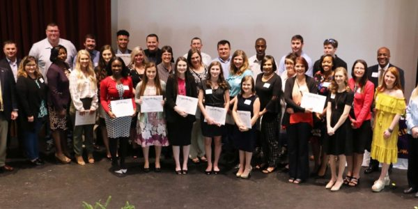 Athens State Business Honor Society Initiates New Members